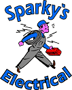 sparkys electrical logo bolt